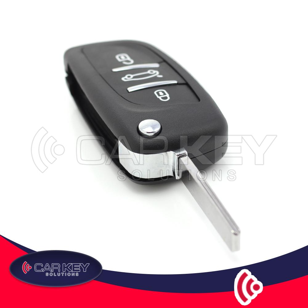 Citroen / Peugeot – Klappschlüssel mit 3 Tasten – CK007026