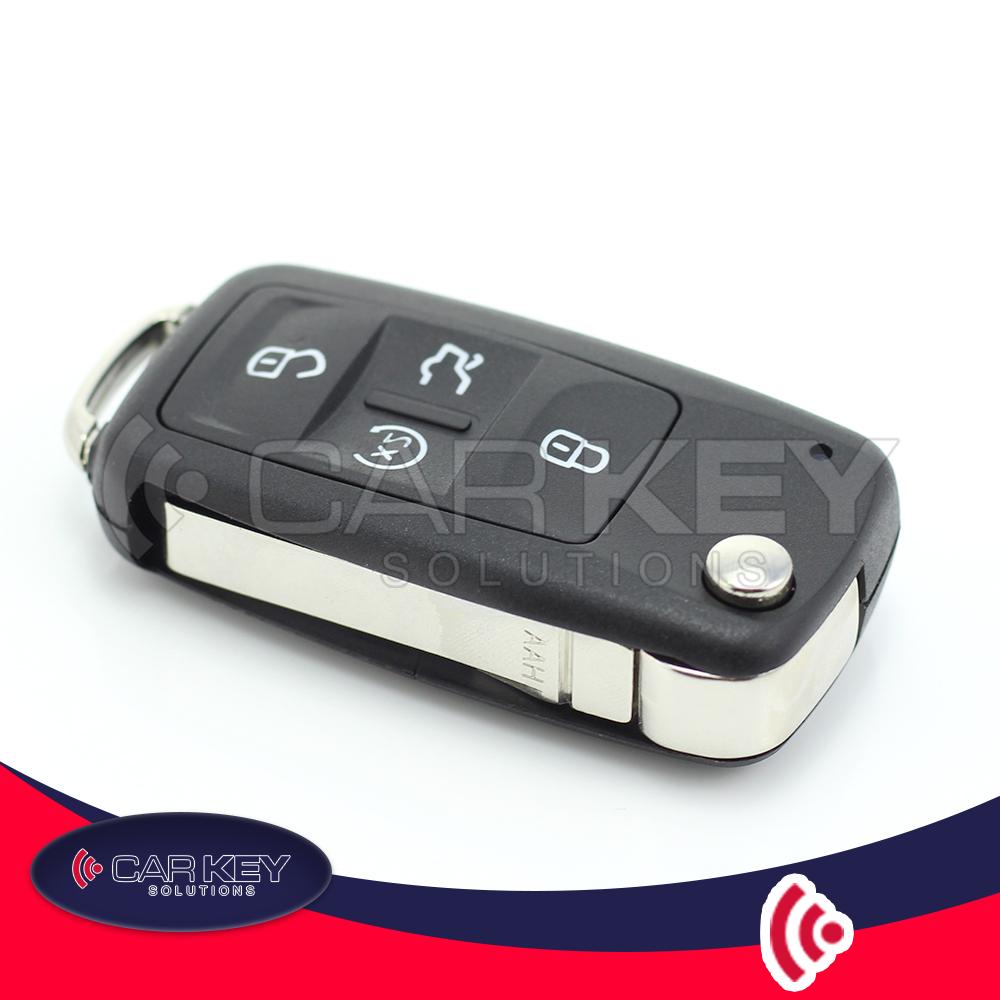 Volkswagen – Klappschlüssel mit 4 Tasten – CK048016